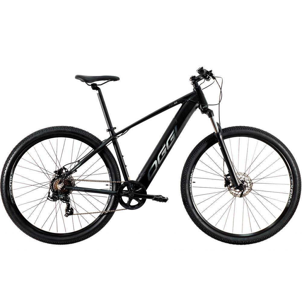 Bicicleta Eletrica Oggi Big Wheel 8.0 Preto e Grafite T-19