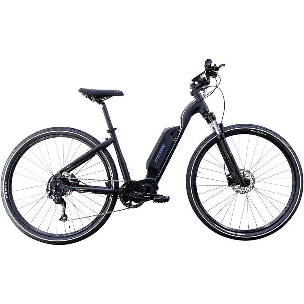 Bicicleta Eletrica Oggi Flex 700 Steps Preto e Cinza