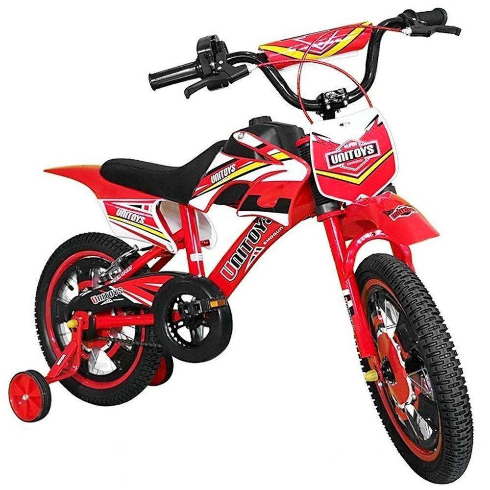 Bicicleta Infantil Aro 16 Montana Unitoys Vermelho