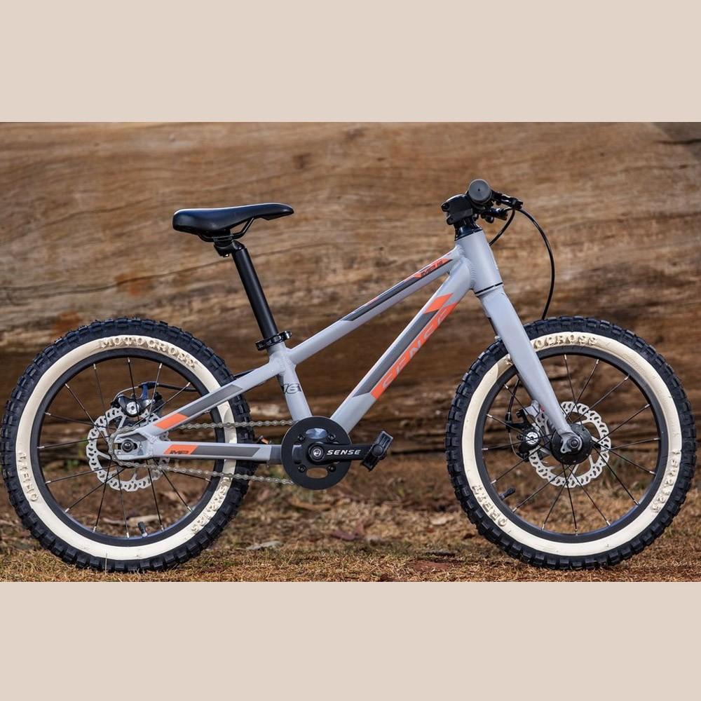 Bicicleta Infantil Sense Impact Aro 16 Grom 2020 Cinza Vermelho