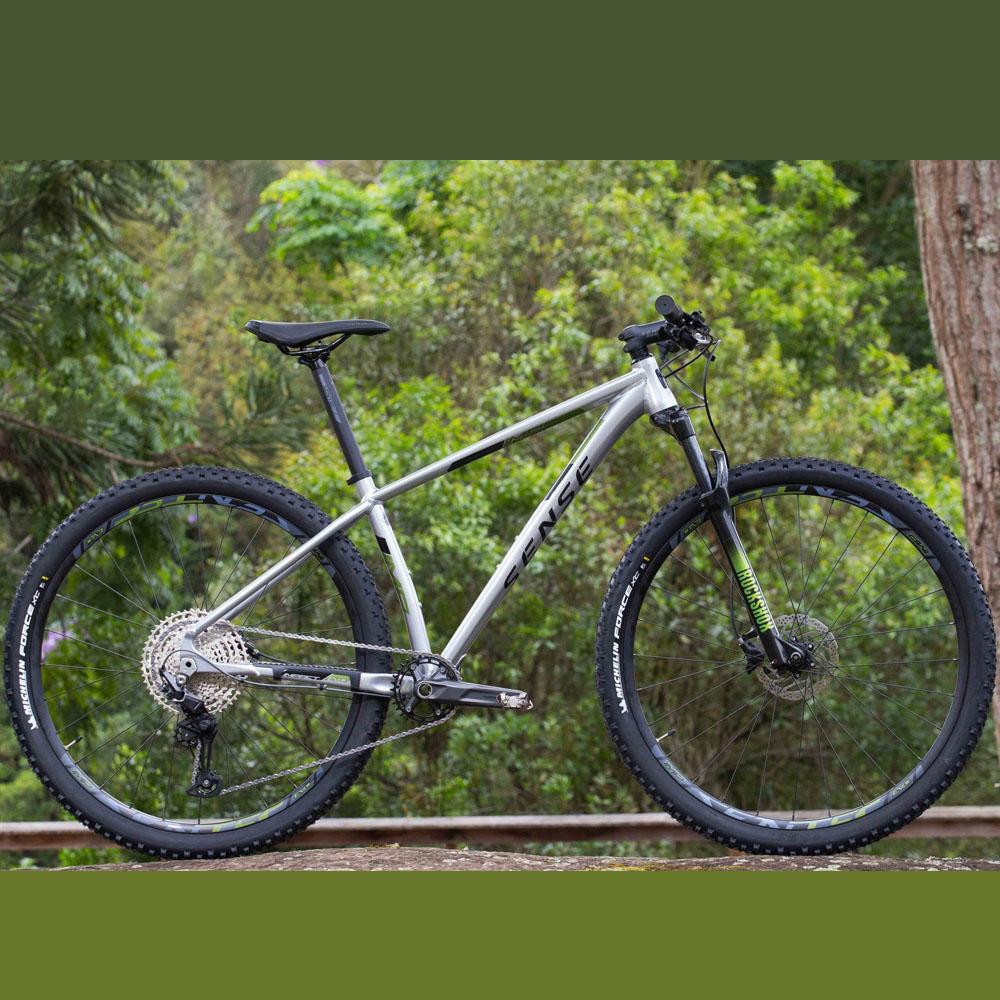 Bicicleta Sense Impact Evo 2021 Tamanho S 1X12V Deore