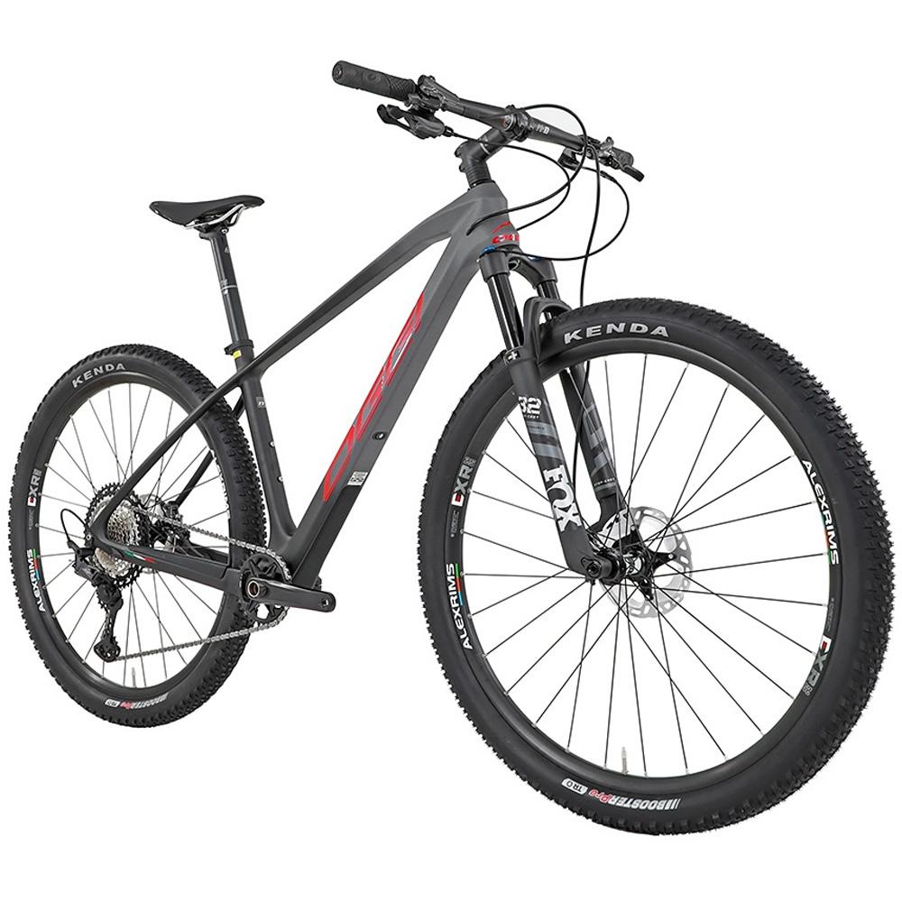 Bicicleta Oggi Agile Pro Carbon Deore XT 2021 Preto/Grafite 17