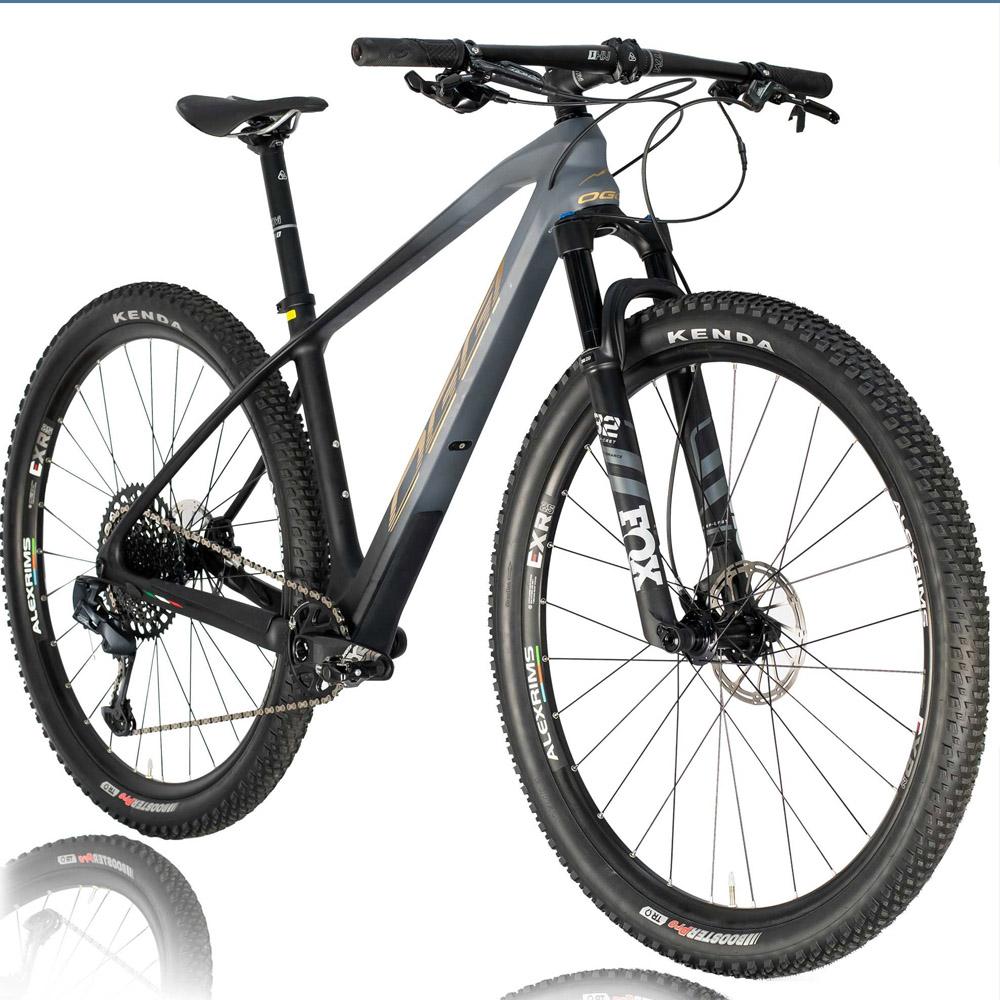 Bicicleta Oggi Agile Pro GX 12 Velocidades 2021 Grafite/Preto/Dourado