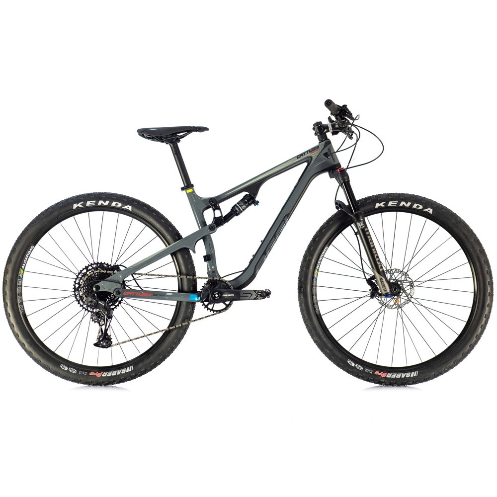 Bicicleta Oggi Cattura Sport Carbono Full 2020 Sram SX 12 Velocidades