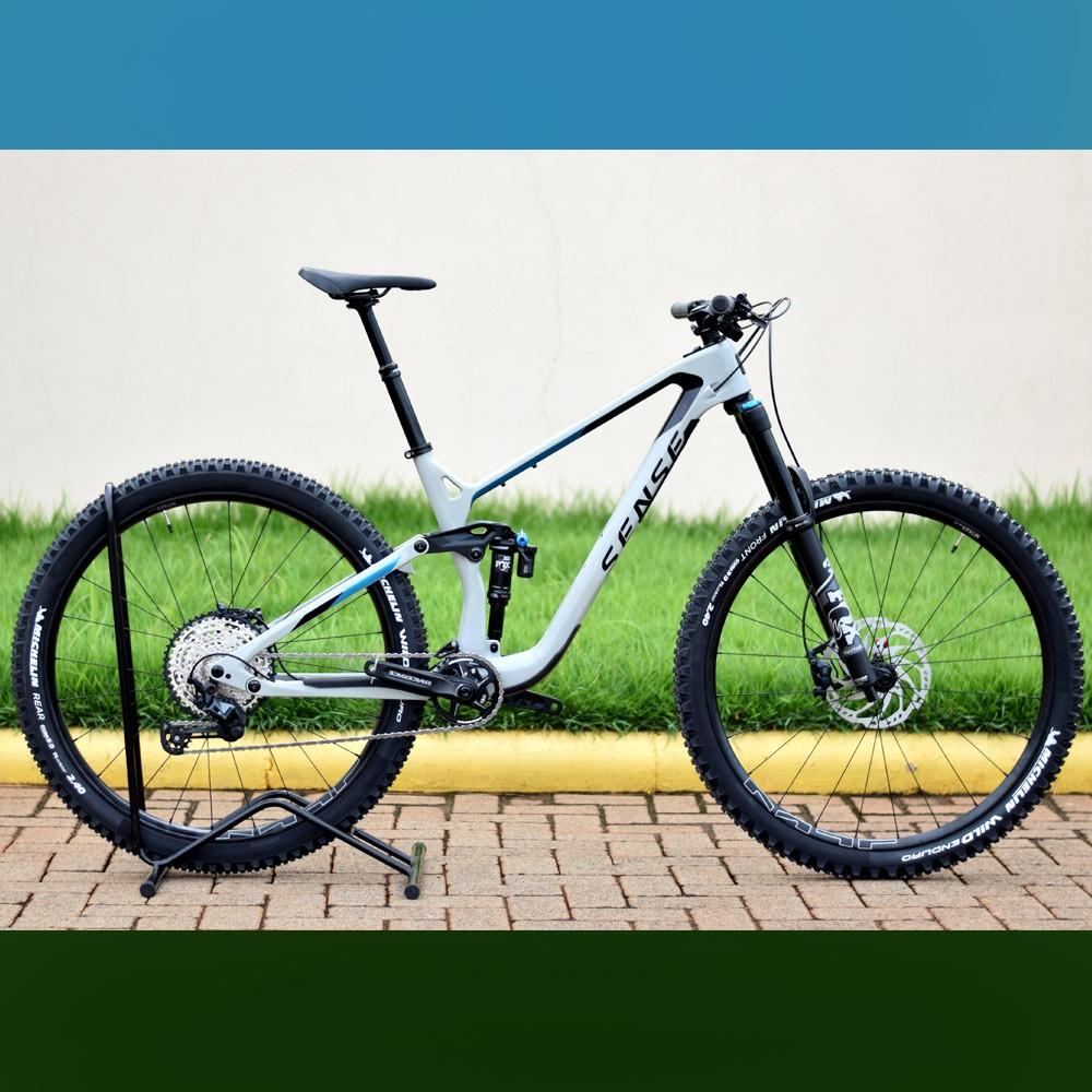 Bicicleta Sense Exalt LT Comp SLX 12 Velocidades Tamanho M