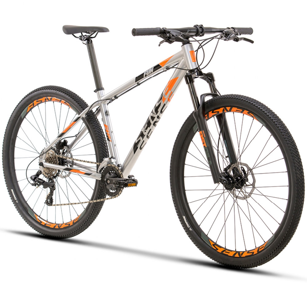 Bicicleta Sense Fun Comp 2021 Alumínio/Laranja Tamanho XL