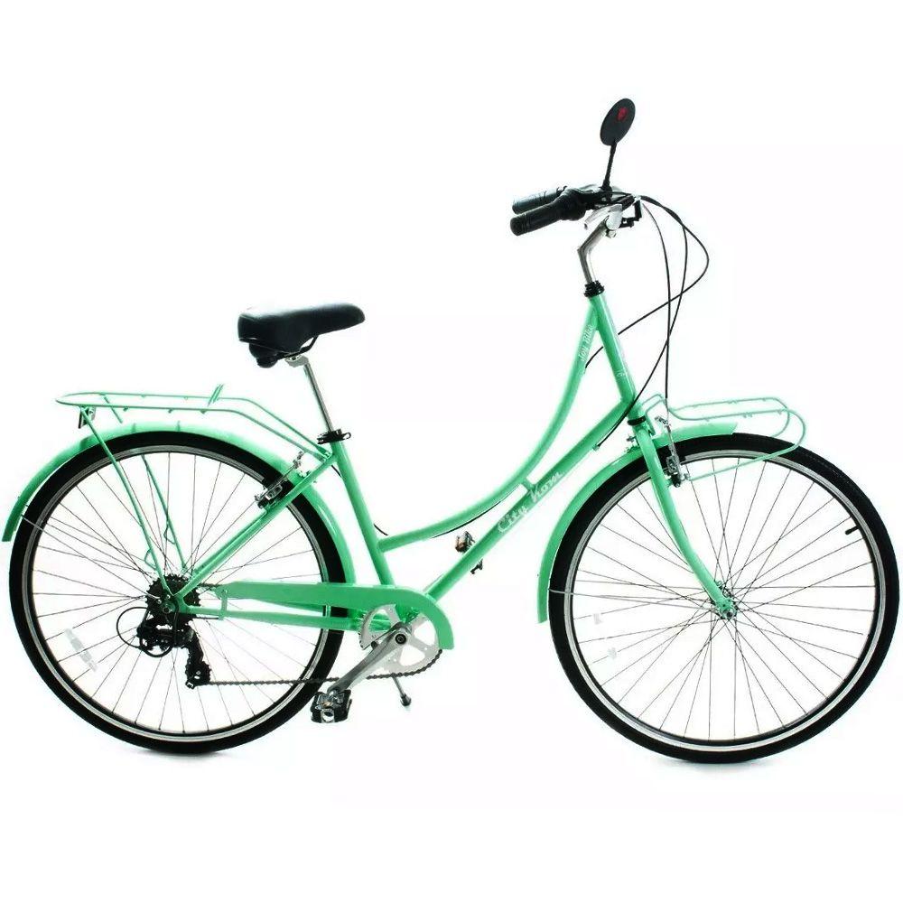 Bicicleta Vintage City Joy 7v Shimano Roda 700 Estilo Retro