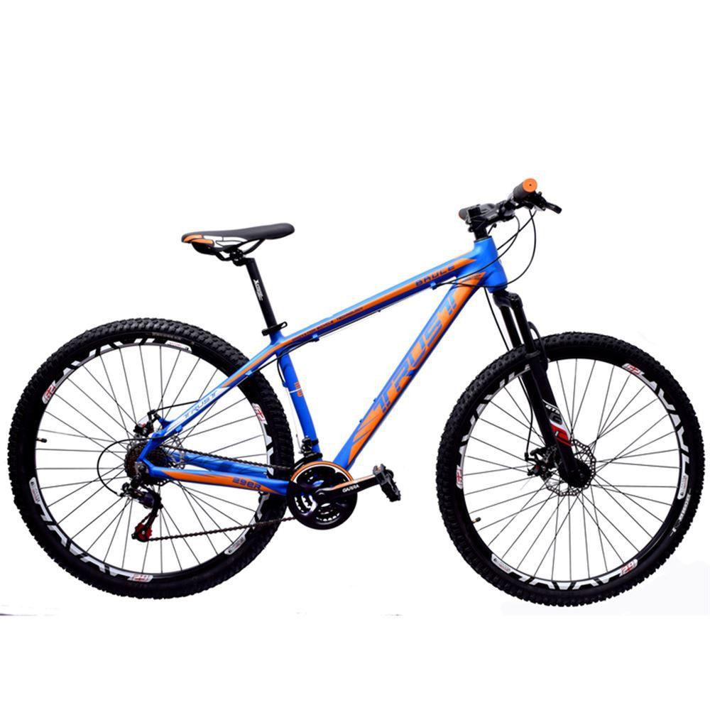 Bike 29 Trust Bruce 21v Shimano Freio Disco Mec T-17 Azul