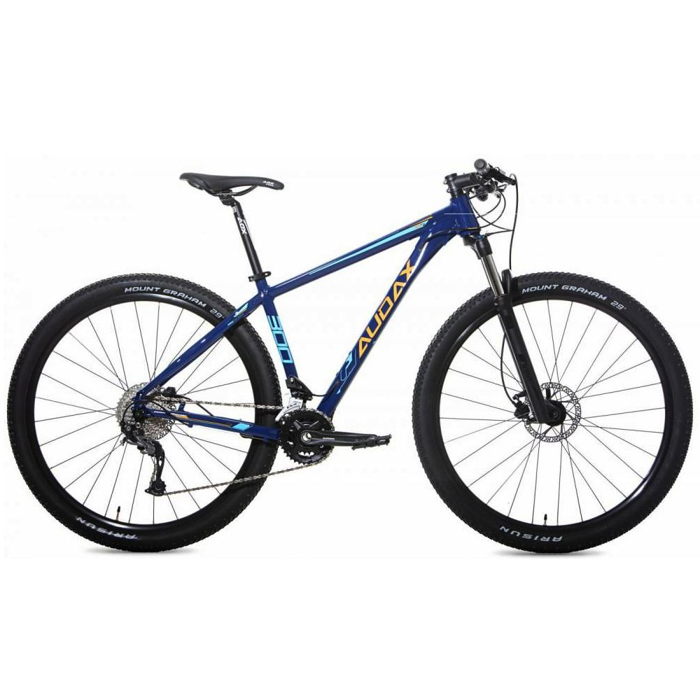 Bike Audax ADX-300 2020 Shimano Alivio 18 Velocidades Tamanho 17