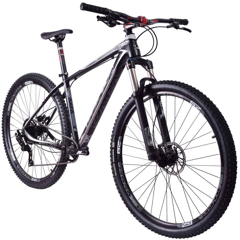 Bike Kapa T-60 Microshift Advent 1x9 Hidráulico Preto Tam. 17.5
