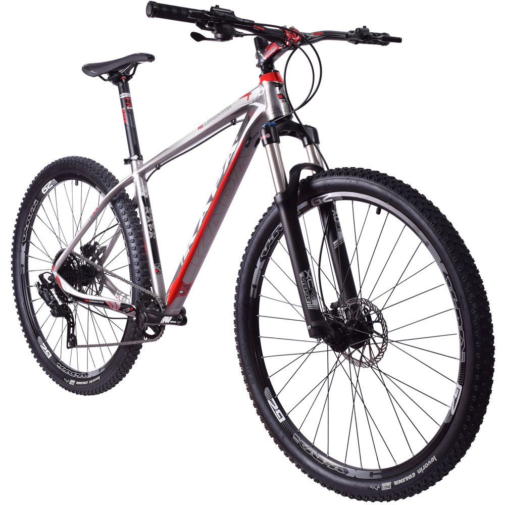 Bike Kapa T-60 Microshift Advent 1x9 Hidráulico Titanium Tam. 17.5