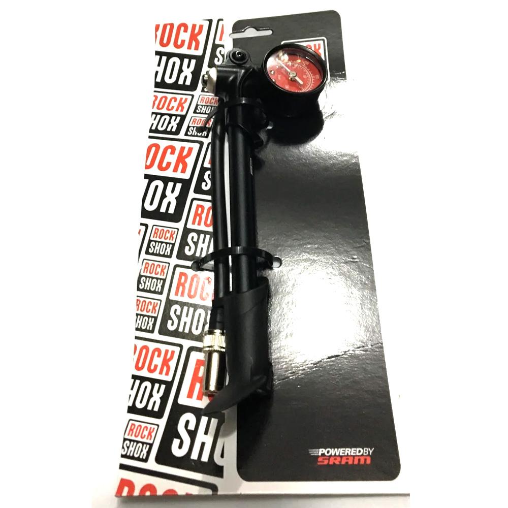 Bomba De Suspensão Rockshox Alta Pressão 300 PSI C/ Manômetro
