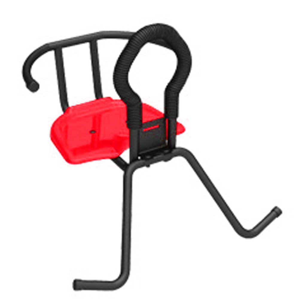 Cadeirinha Bicicleta Dianteira Pojda Caçulinha Vermelho