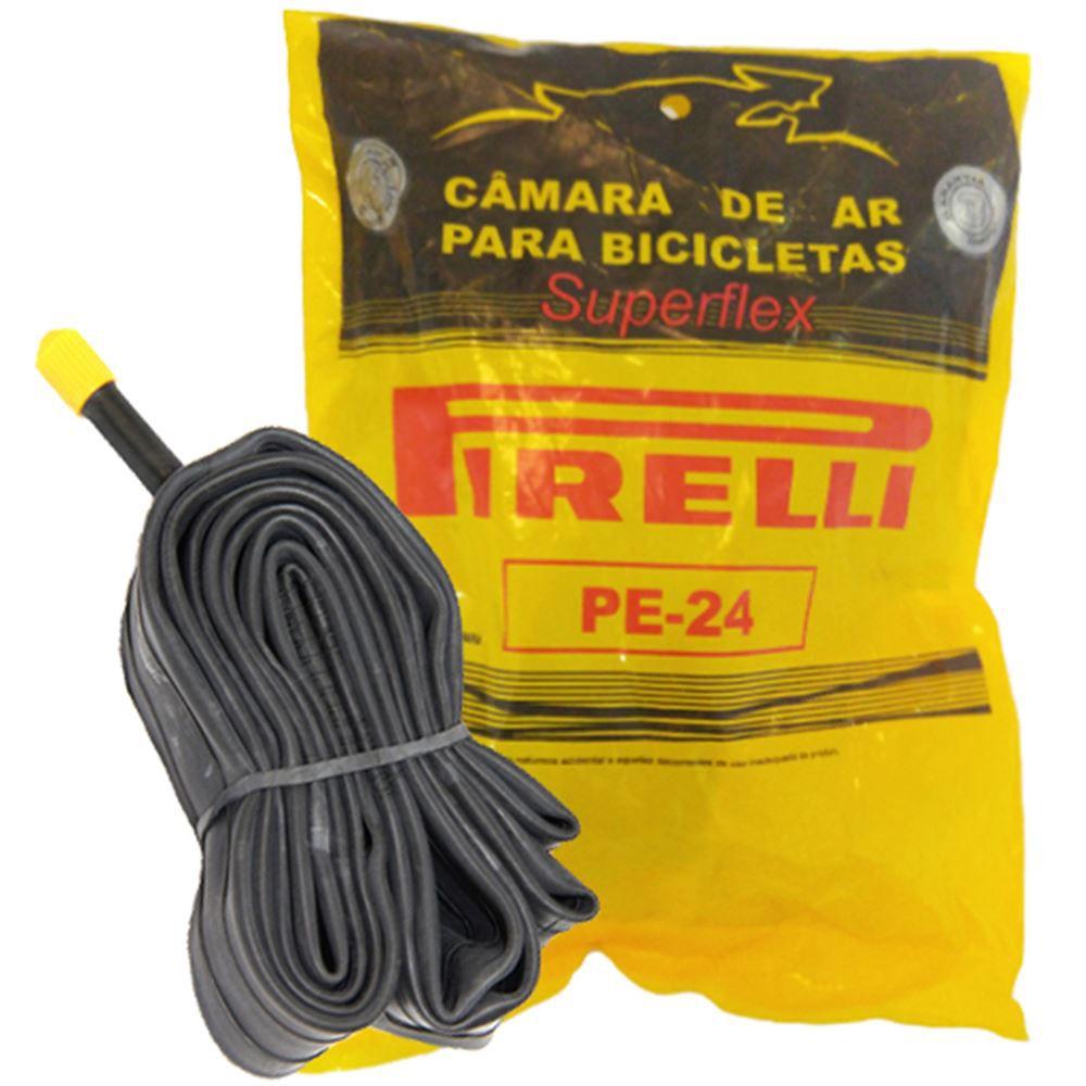 Câmara De Ar Bicicleta 24 Pirelli Butyl