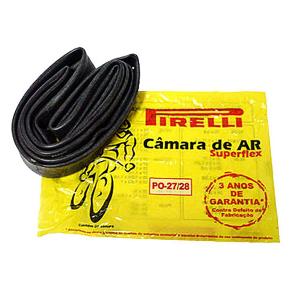 Camara De Ar Bicicleta 27/28 Pirelli Butyl