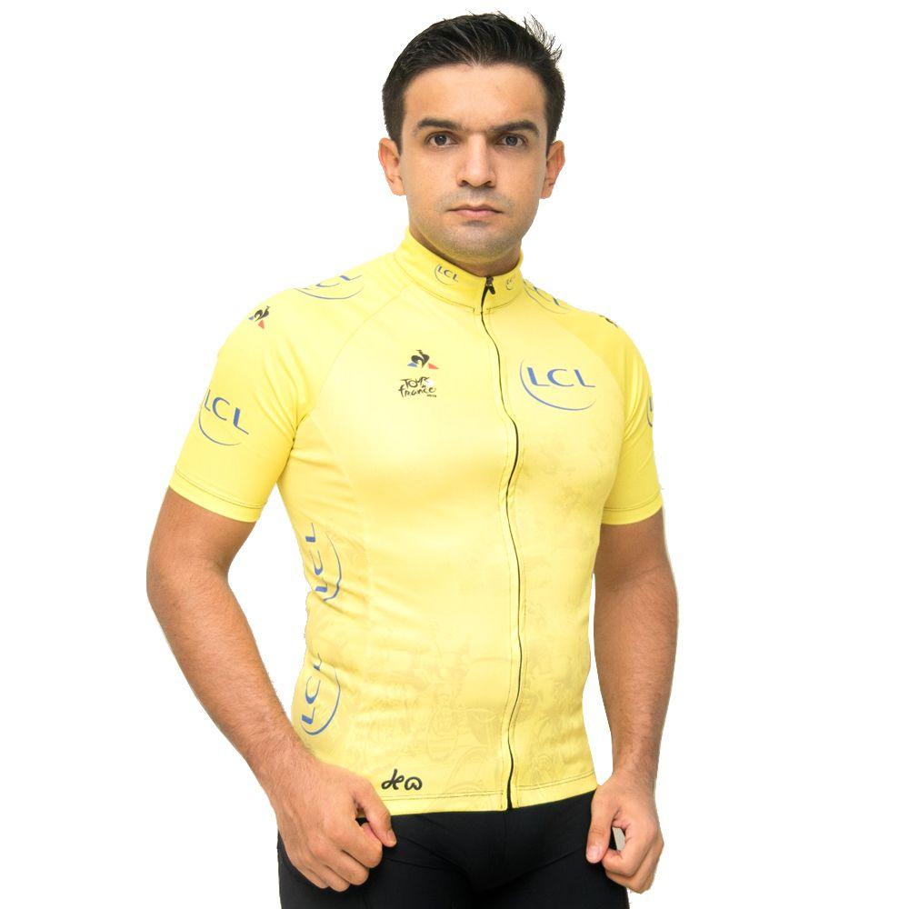 Camisa Ciclismo Equipe LCL Masculina Tour de France M