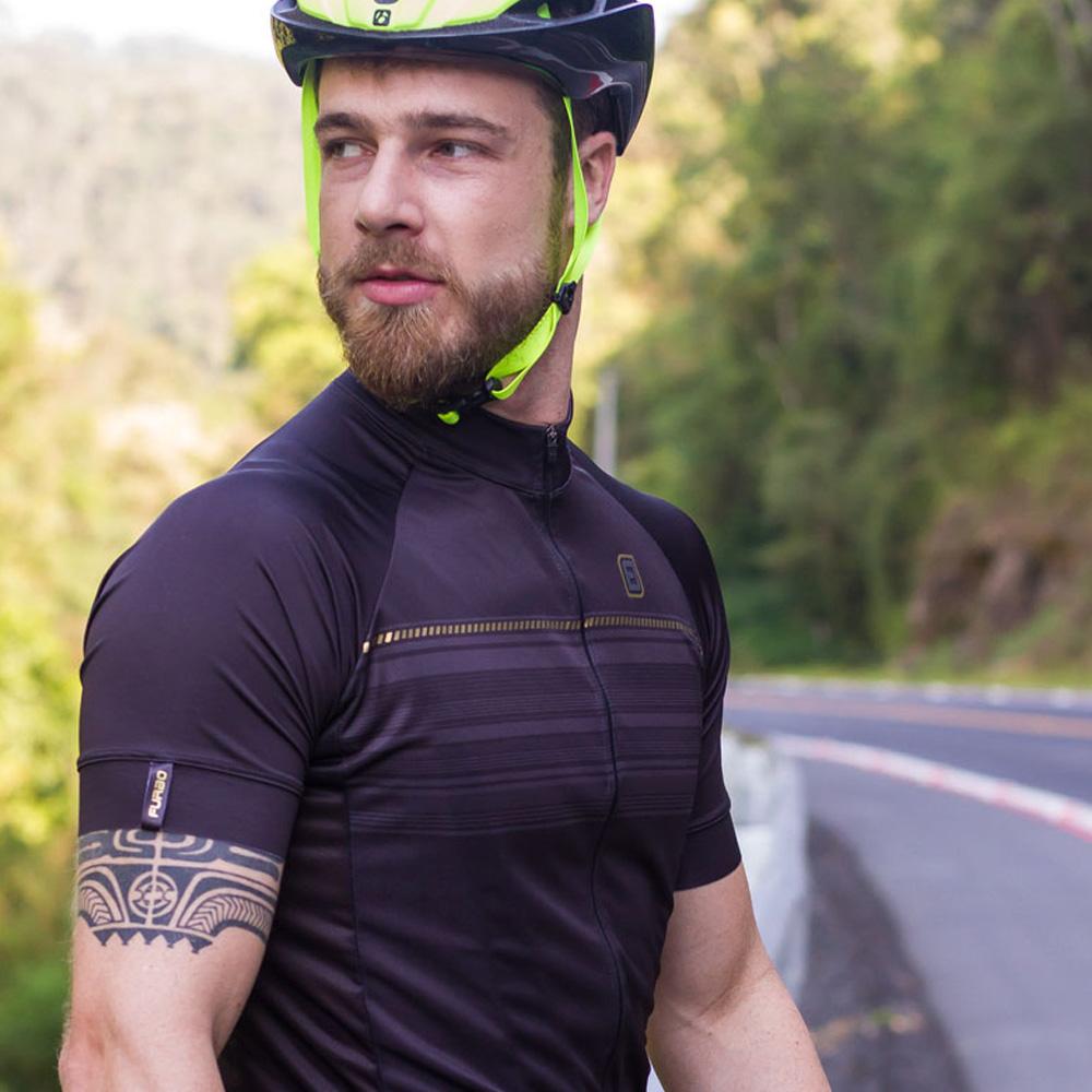 Camisa Ciclismo F13 Furbo Manga Curta Zi Zb Nobile Preto