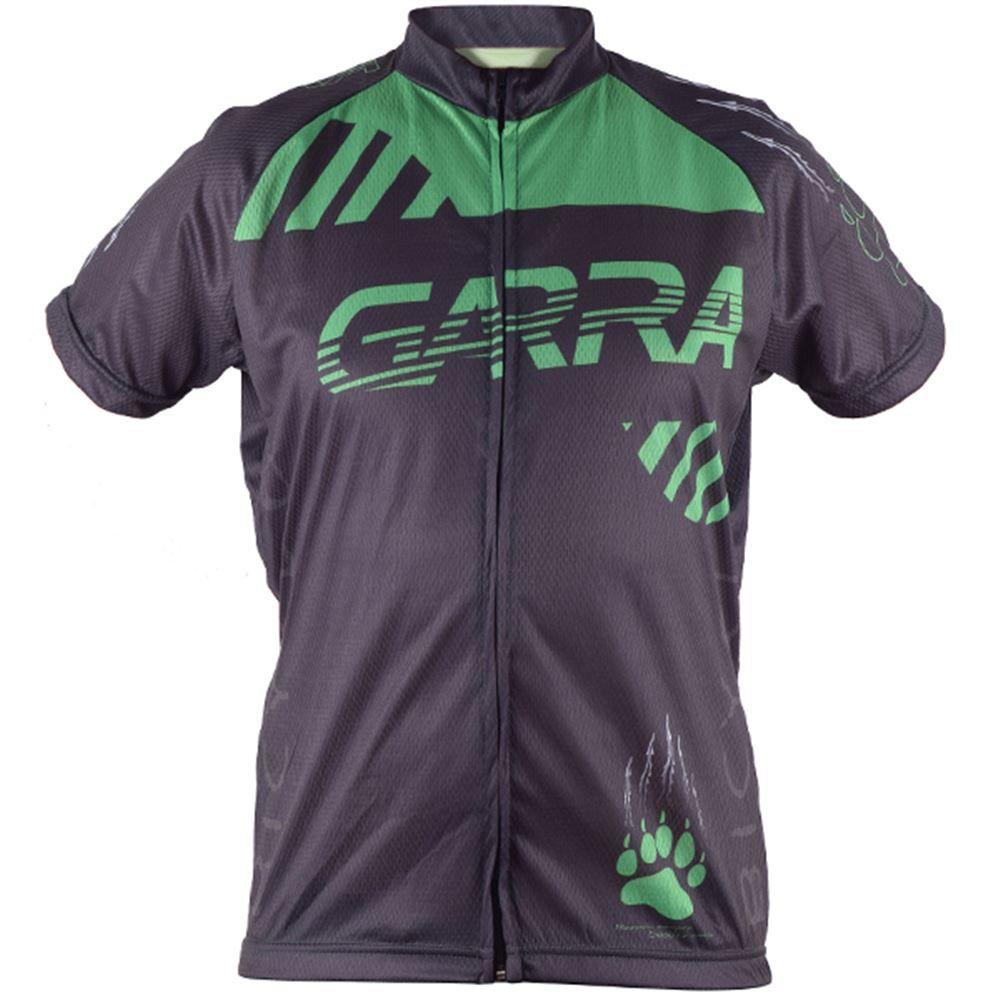 Camisa Ciclismo Garra Bike Tamanho XGG Preto/Verde