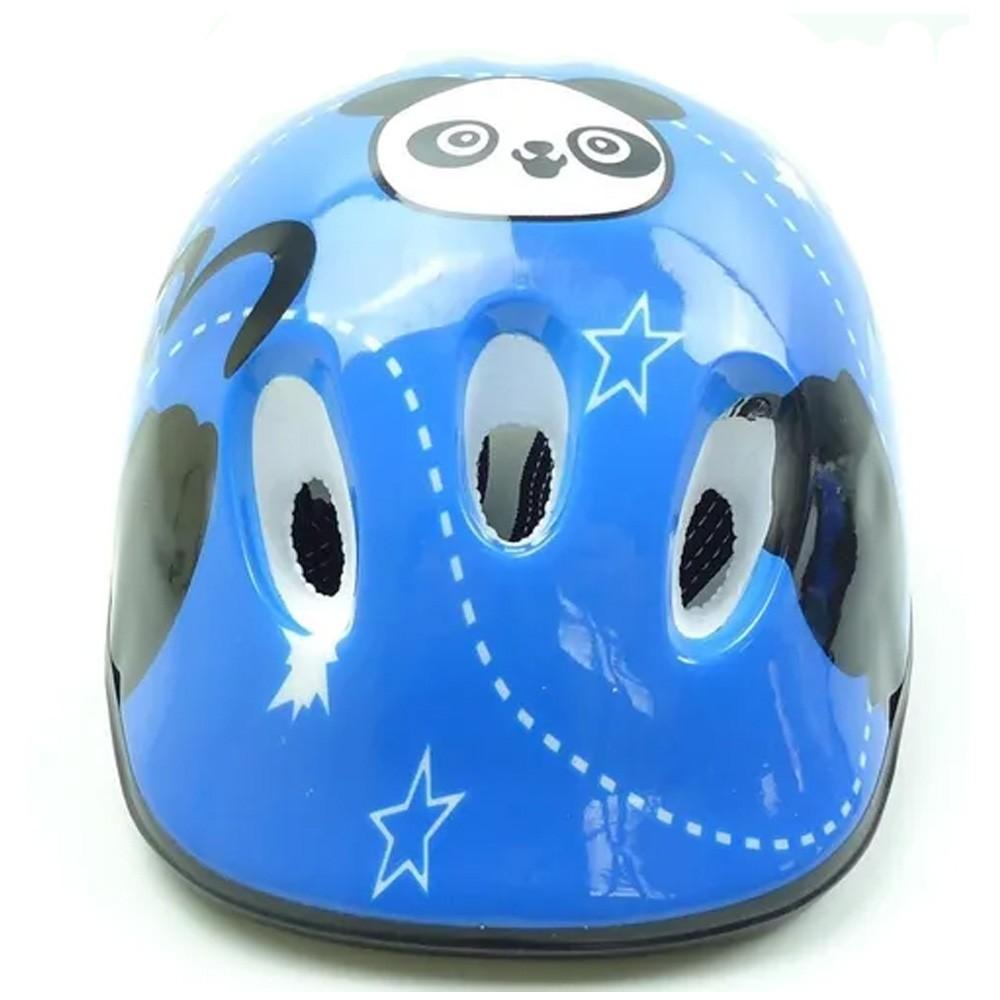 Capacete Bike Infantil Modelo Urso GTS Azul