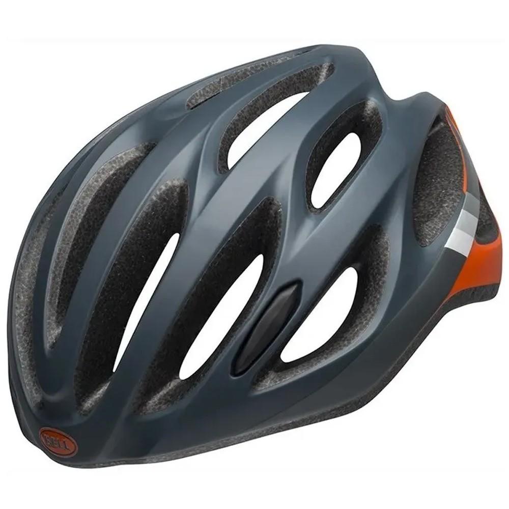 Capacete Ciclismo Bell Draft Cinza/Laranja Tamanho Único
