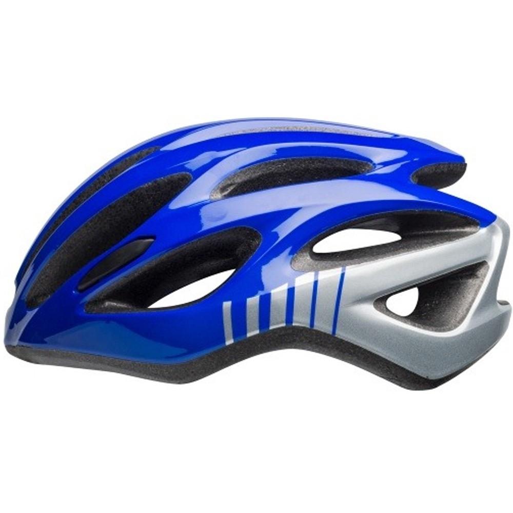 Capacete Ciclismo Bell Draft Prata/Azul Tamanho Único