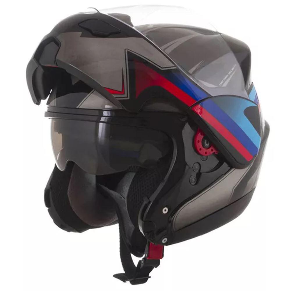 Capacete Moto Pro Tork Attack Preto Tamanho 58