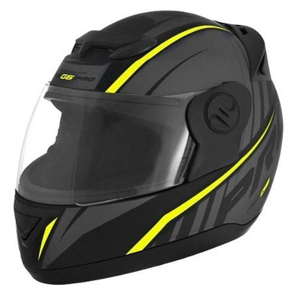 Capacete Moto Pro Tork G6 Pro Tamanho 60 Preto e Neon