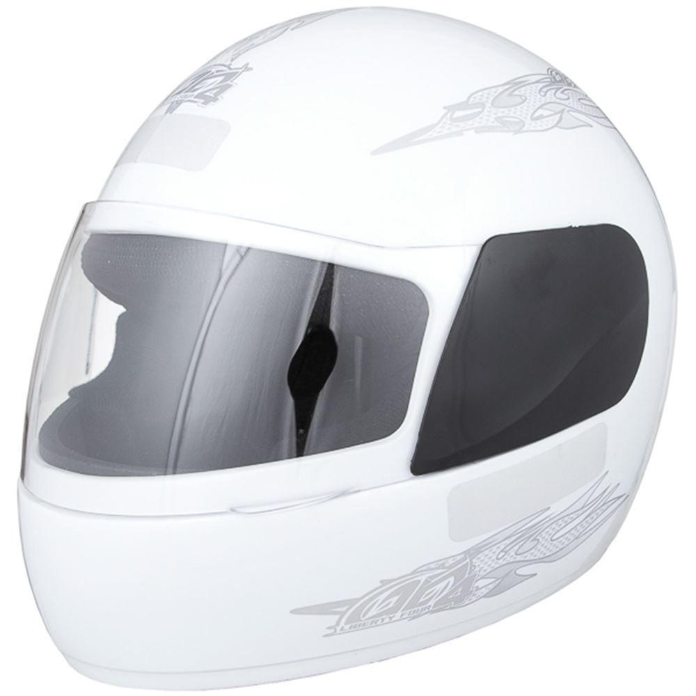 Capacete Moto Pro Tork Liberty Four Tamanho 56 Branco