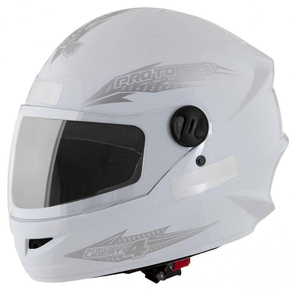 Capacete Moto Pro Tork New Liberty Four 58 Branco