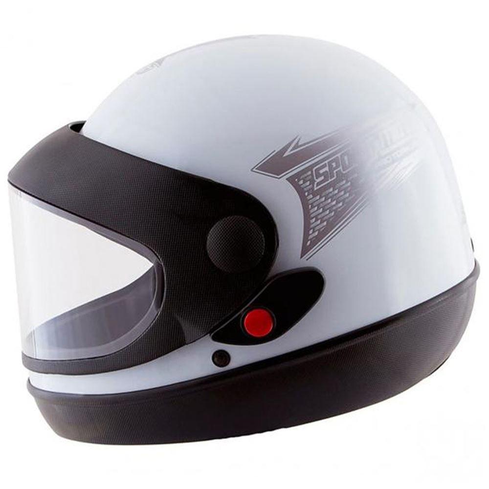 Capacete Moto Pro Tork Sport Tamanho 58 Branco