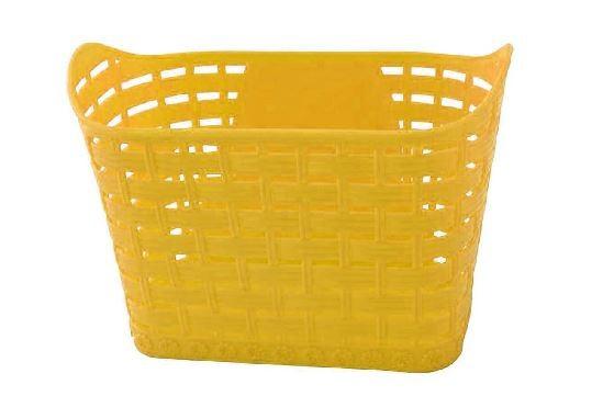 Cesta Bicicleta Infantil Wester 16/20 Plástica Amarela