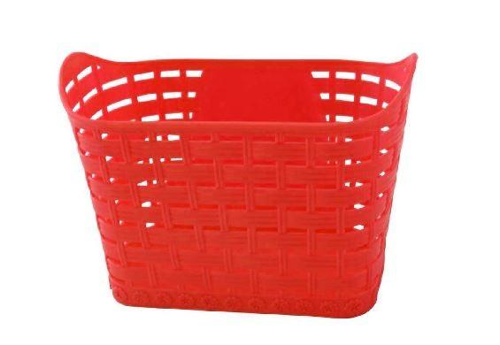 Cesta Bicicleta Infantil Wester 16/20 Plástica Vermelha
