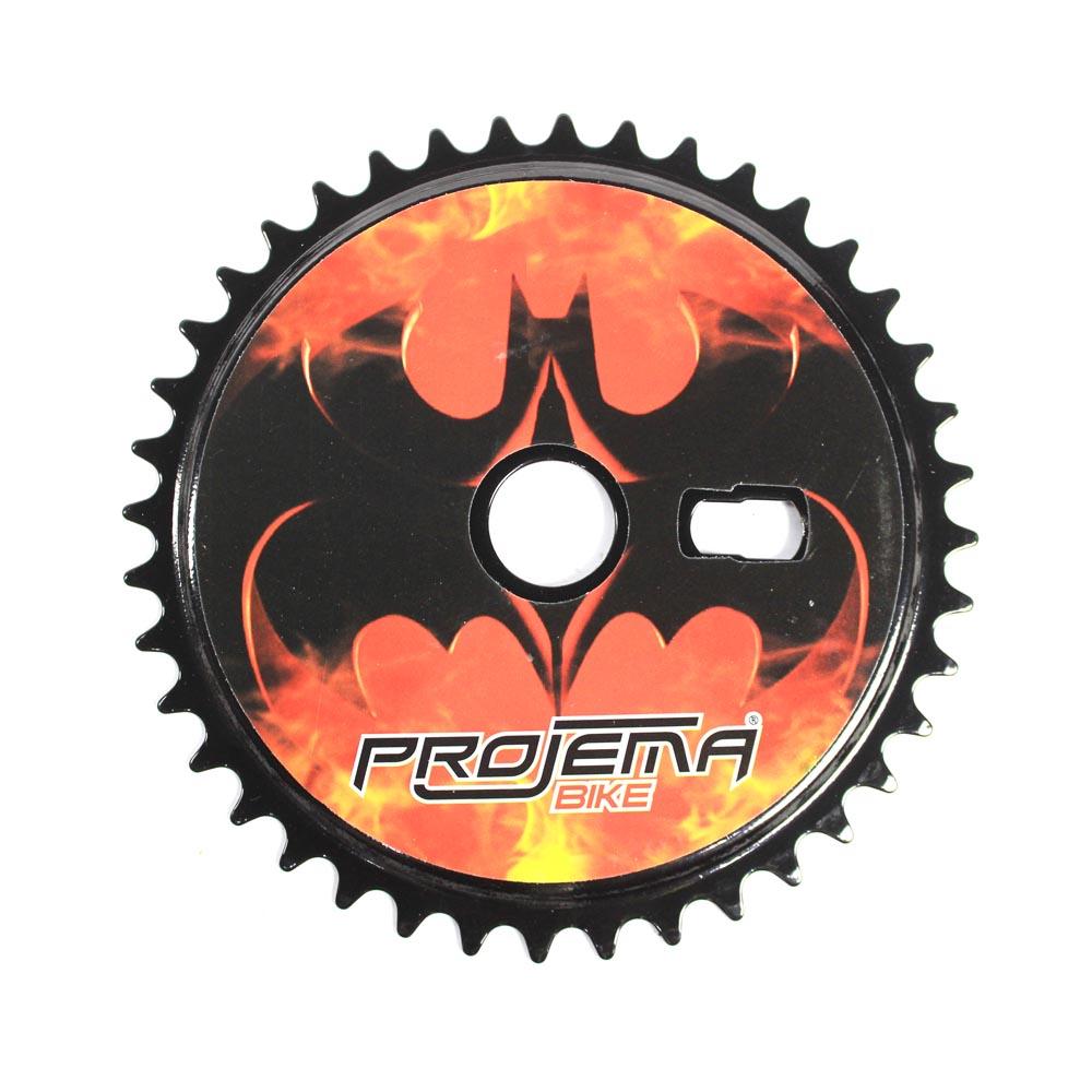 Coroa para Bicicleta 40 Dentes Modelo Batman