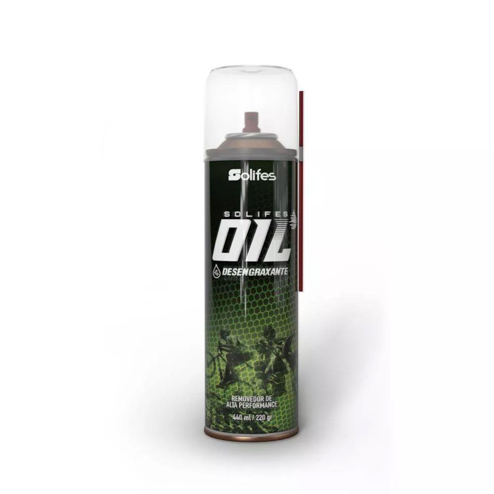 Desengraxante Solifes Oil Spray Limpeza Pesada 440ml
