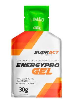 Suplemento Sudract Energy Pro Gel Limão Sache 30 Gramas