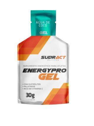 Suplemento Sudract Energy Pro Gel Água de Coco Sache 30g