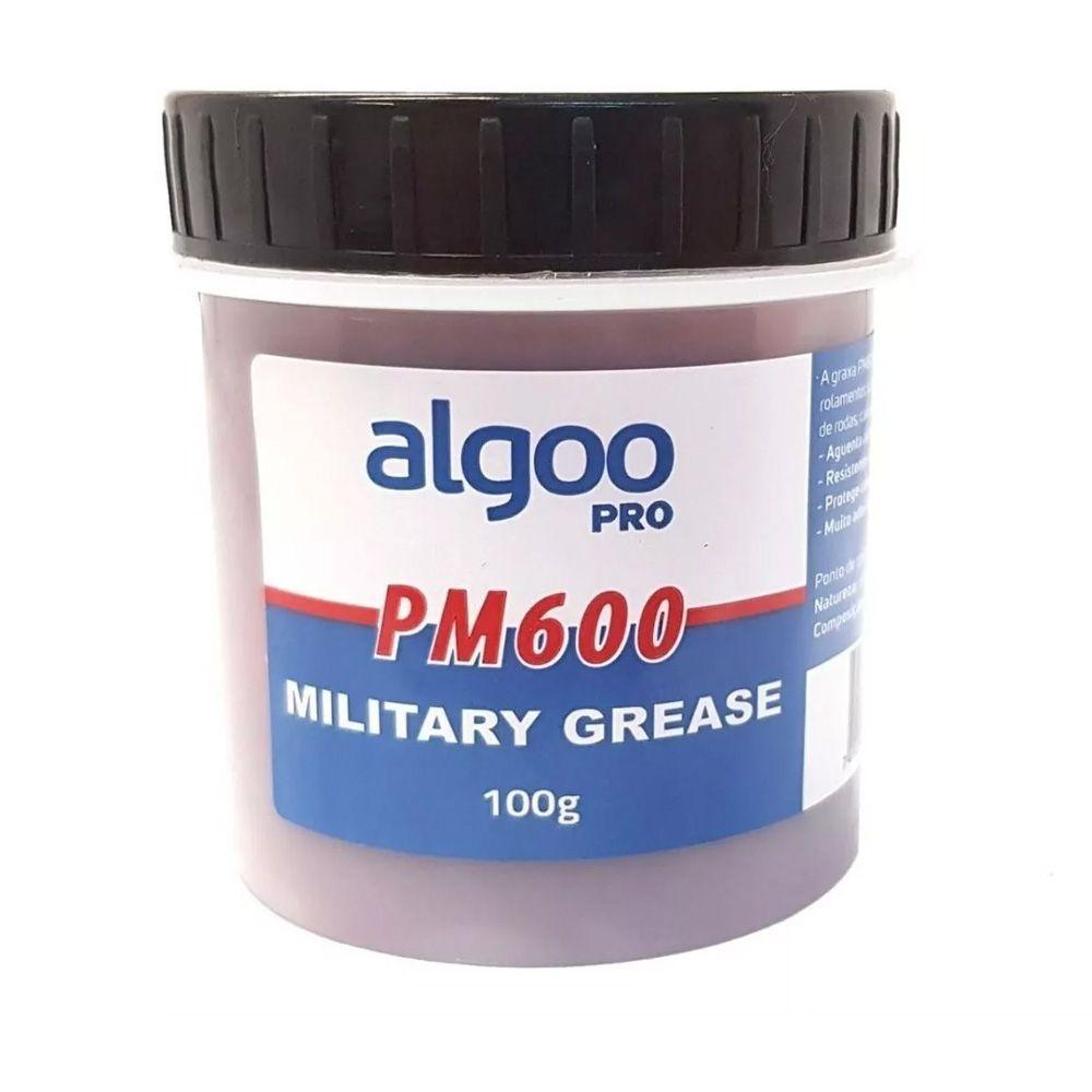Graxa Algoo Pro Militar PM600 Rolamentos cubos e direção