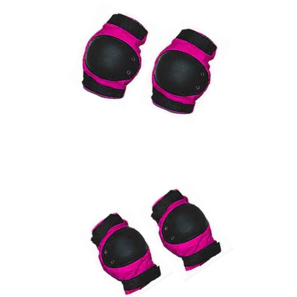 Kit Proteção Infantil Bike Skate Penks Rosa