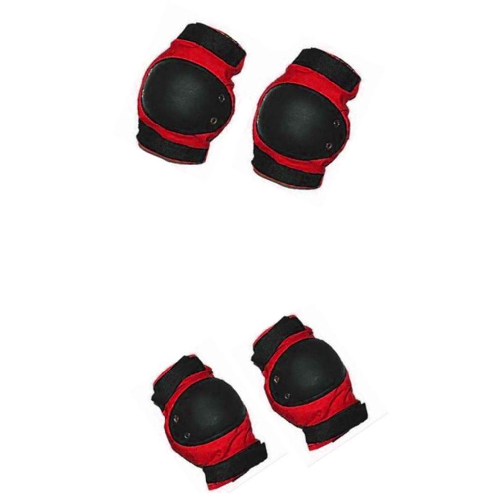 Kit Proteção Infantil Bike Skate Penks Vermelho