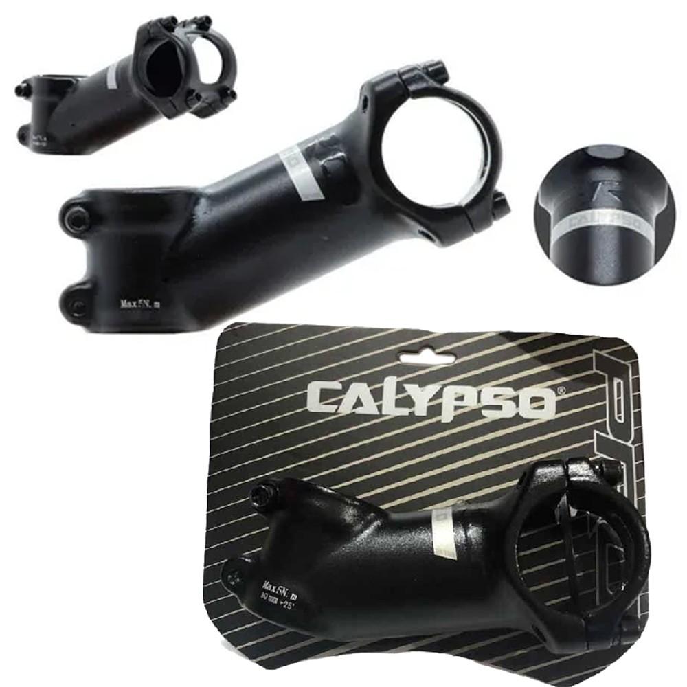 Mesa Calypso Pro 31,8mm x 80mm 25° Forjada 3D Preto
