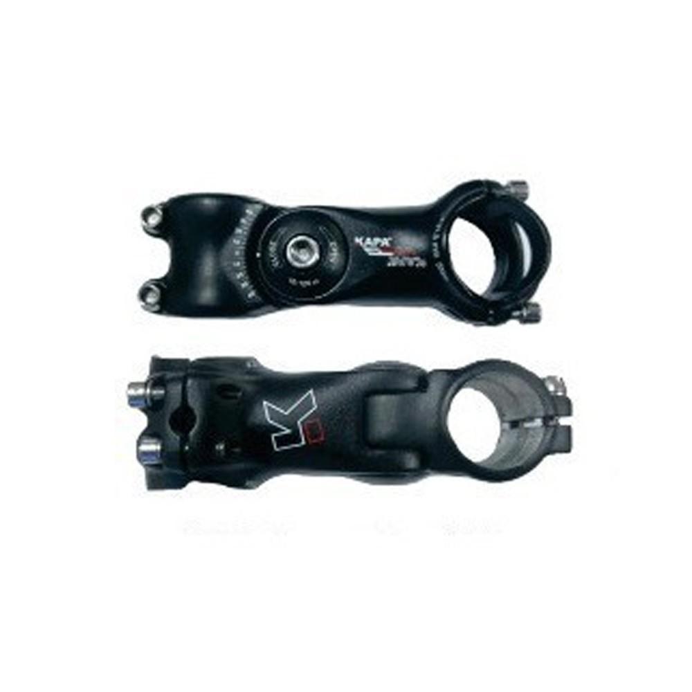 Mesa Suporte Guidão Bike KAPA Pro 31.8mm Over Regulagem Preto