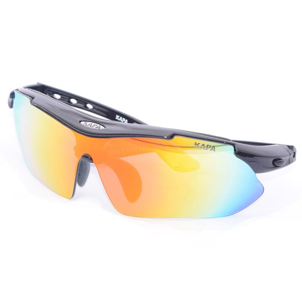 Oculos Ciclismo 5 Lentes KAPA Bikes Preto