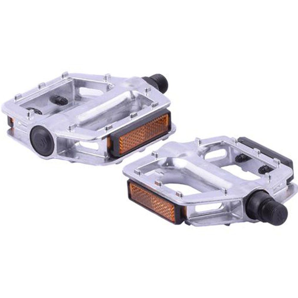Pedal BMX Alumínio Feimin 1/2 Sueco Prata