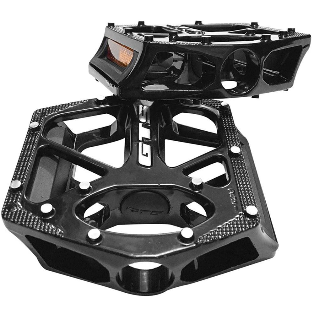 Pedal GTS Alumínio Plataforma 9/16 Inglês Preto