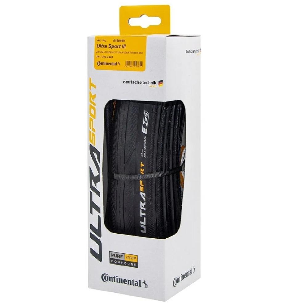 Pneu Continental Ultra Sport lll 700x23 Kevlar Road Speed