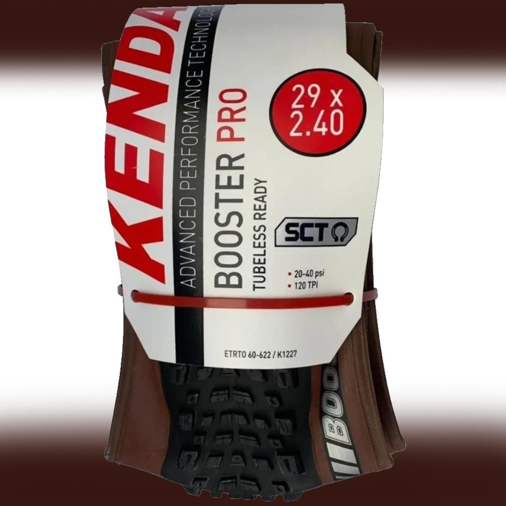 Pneu Kenda Booster Pro 29x2.40 SCT K-1227 Fx-Marrom