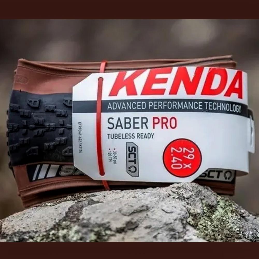 Pneu Kenda Saber Pro Coffe Skin 29x2.40 K1174 Fx-Marrom