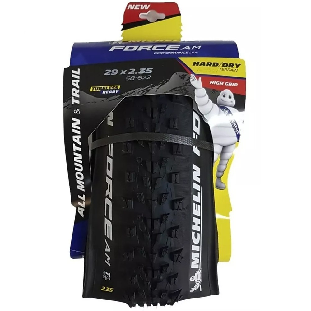 Pneu Michelin 29x2.35 Force Am Performance Line Kevlar 4x60 TPI