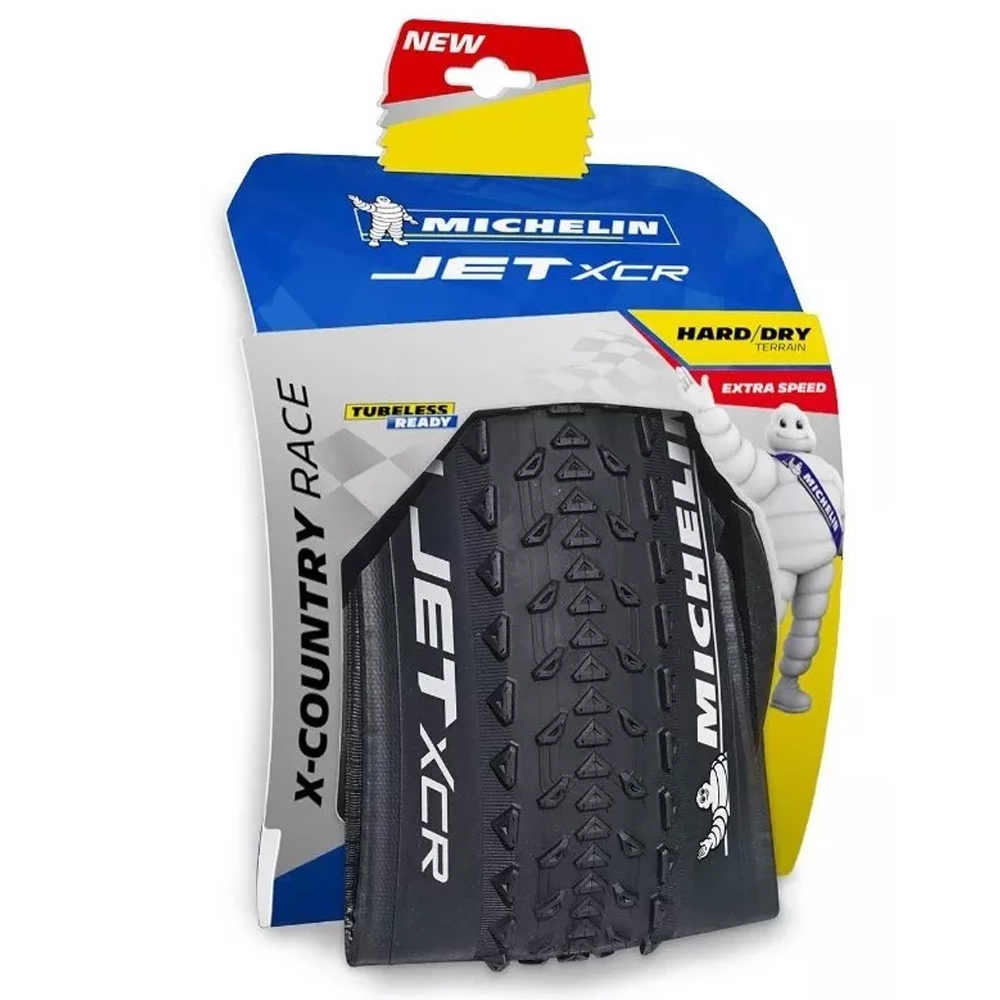 Pneu Michelin JET XCR 29x2.25 Competition Line Tubeless Read