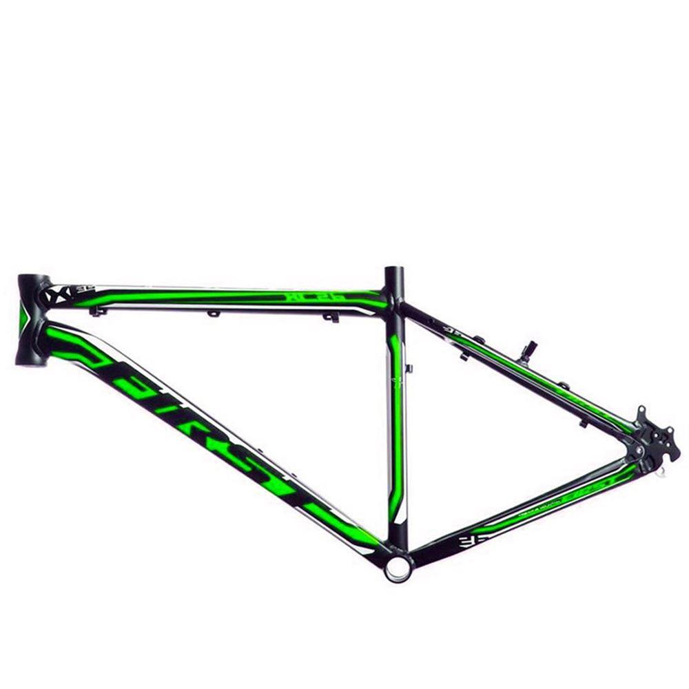 Quadro 26 MTB First XC Tam. 20 Preto e Verde